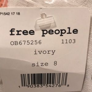 Free People Dresses - Free People Ivory Dress